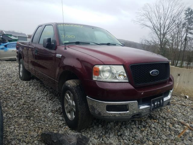 Salvage cars for sale from Copart West Warren, MA: 2004 Ford F150