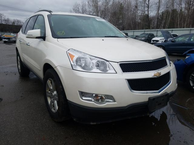 Salvage cars for sale from Copart North Billerica, MA: 2012 Chevrolet Traverse L