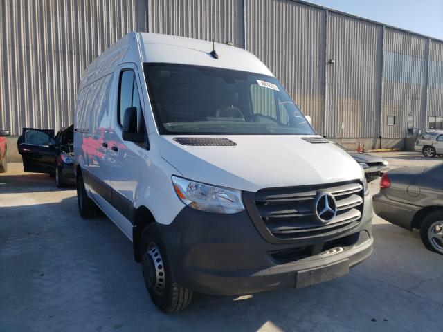 Salvage cars for sale from Copart Lawrenceburg, KY: 2019 Mercedes-Benz Sprinter 2