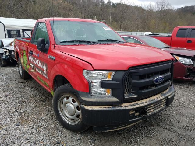 Salvage cars for sale from Copart Hurricane, WV: 2016 Ford F150