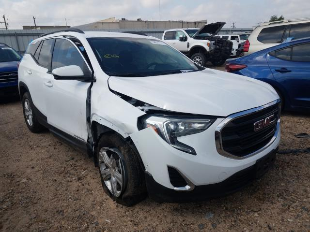 Salvage cars for sale from Copart Mercedes, TX: 2020 GMC Terrain SL