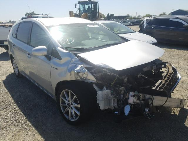 Salvage cars for sale from Copart Antelope, CA: 2014 Toyota Prius V