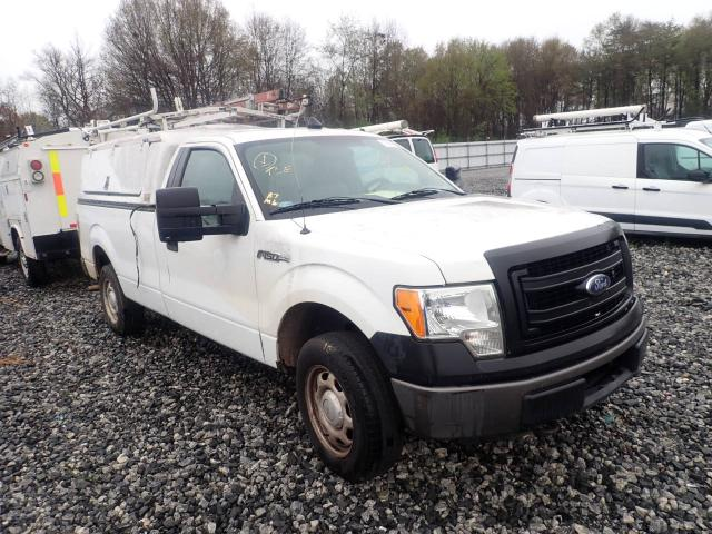 Salvage cars for sale from Copart Spartanburg, SC: 2013 Ford F150