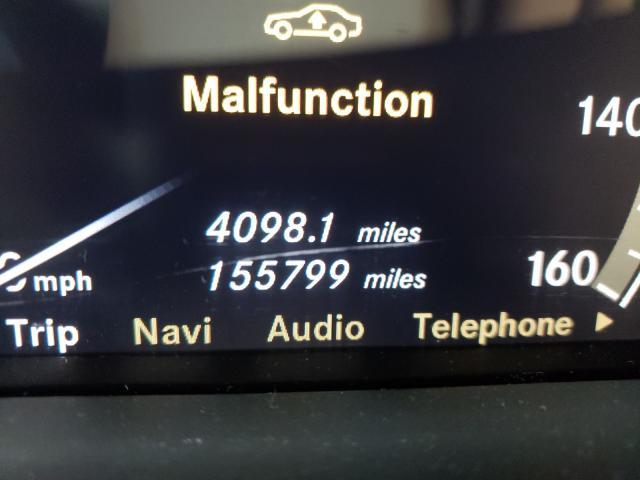 2008 MERCEDES-BENZ S 550 - Engine View