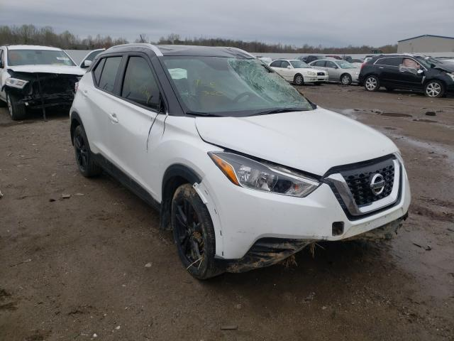 Nissan salvage cars for sale: 2019 Nissan Kicks S