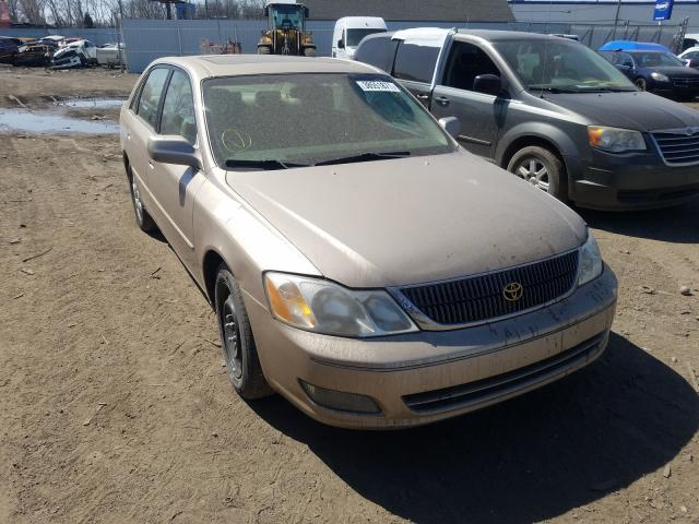 Salvage cars for sale from Copart Hammond, IN: 2002 Toyota Avalon
