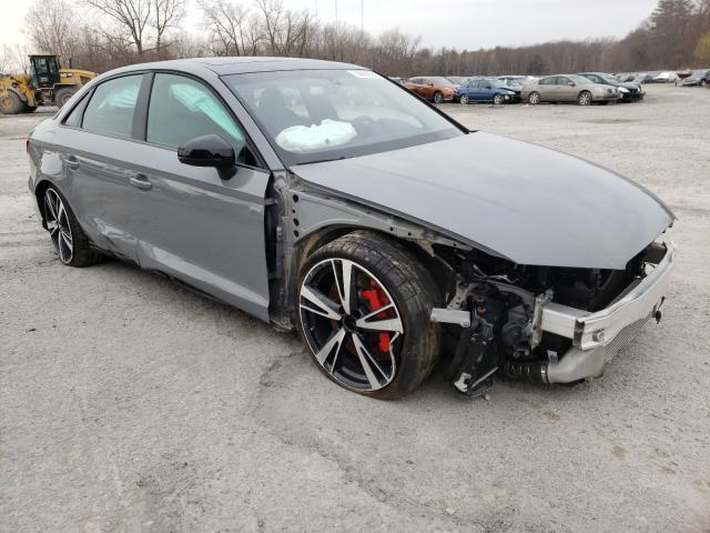 Salvage cars for sale from Copart Albany, NY: 2019 Audi RS3