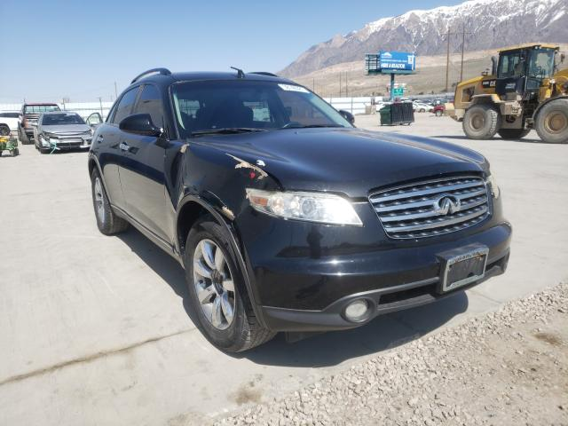Salvage cars for sale from Copart Farr West, UT: 2004 Infiniti FX35