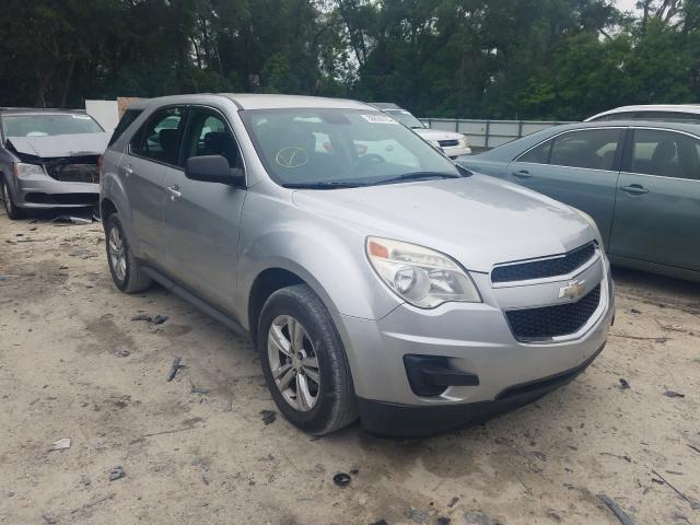 Salvage cars for sale from Copart Ocala, FL: 2012 Chevrolet Equinox LS