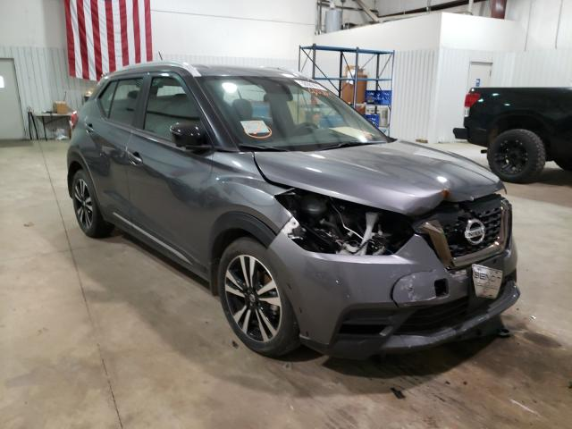 Salvage cars for sale from Copart Lufkin, TX: 2020 Nissan Kicks SR