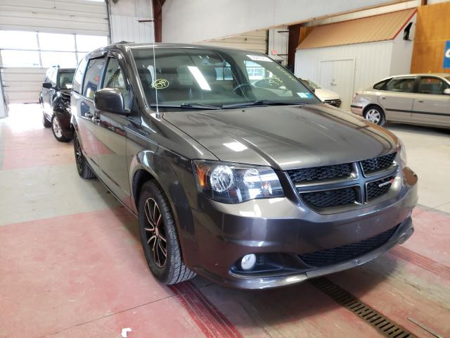 Salvage cars for sale from Copart Angola, NY: 2018 Dodge Grand Caravan