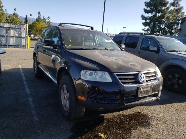 Salvage cars for sale from Copart Rancho Cucamonga, CA: 2004 Volkswagen Touareg 3