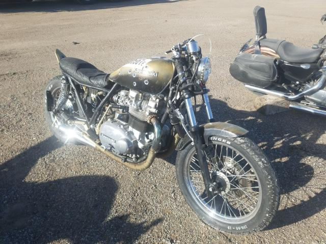 Salvage cars for sale from Copart Greenwood, NE: 1982 Kawasaki KZ750 M