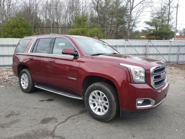 Salvage cars for sale from Copart Exeter, RI: 2020 GMC Yukon SLT
