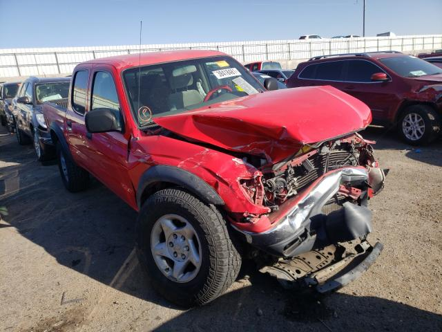 Salvage cars for sale from Copart Albuquerque, NM: 2004 Toyota Tacoma DOU