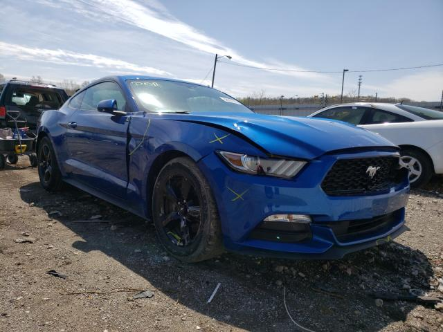 Salvage cars for sale from Copart Louisville, KY: 2017 Ford Mustang
