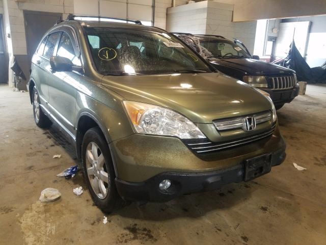 Salvage cars for sale from Copart Sandston, VA: 2007 Honda CR-V EXL