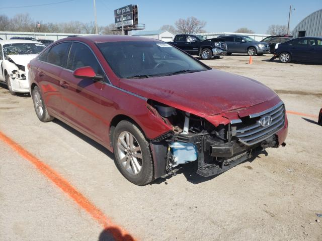Salvage cars for sale from Copart Wichita, KS: 2015 Hyundai Sonata SE