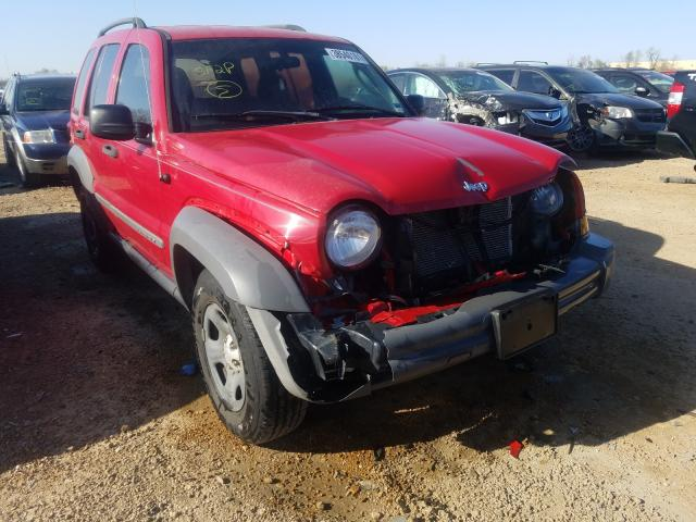 Salvage cars for sale from Copart Bridgeton, MO: 2005 Jeep Liberty SP