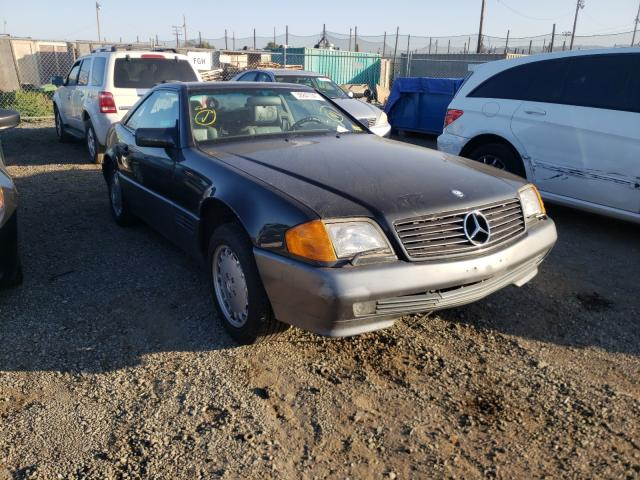 Mercedes-Benz 500 SL salvage cars for sale: 1992 Mercedes-Benz 500 SL