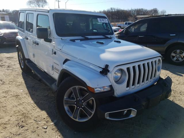 Salvage cars for sale from Copart Madison, WI: 2020 Jeep Wrangler U