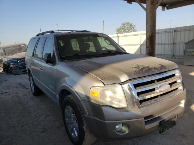 Salvage cars for sale from Copart Temple, TX: 2008 Ford Expedition
