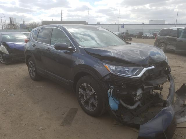 Salvage cars for sale from Copart Hammond, IN: 2018 Honda CR-V EX