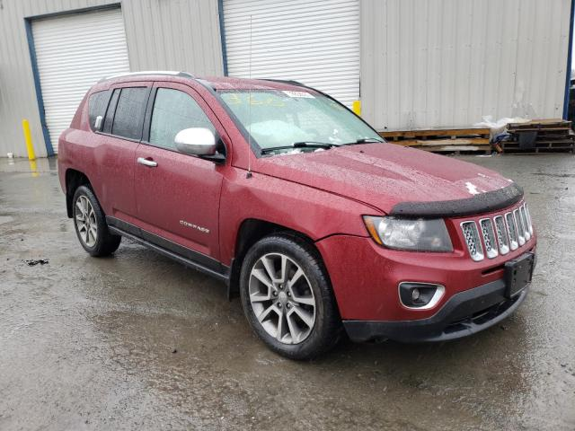 Salvage cars for sale from Copart Albany, NY: 2014 Jeep Compass LI
