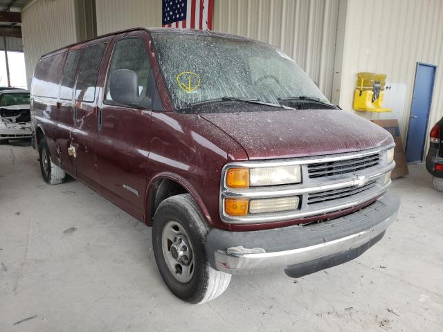 Salvage cars for sale from Copart Homestead, FL: 1999 Chevrolet Express G3