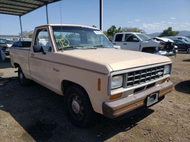 Ford Ranger salvage cars for sale: 1986 Ford Ranger