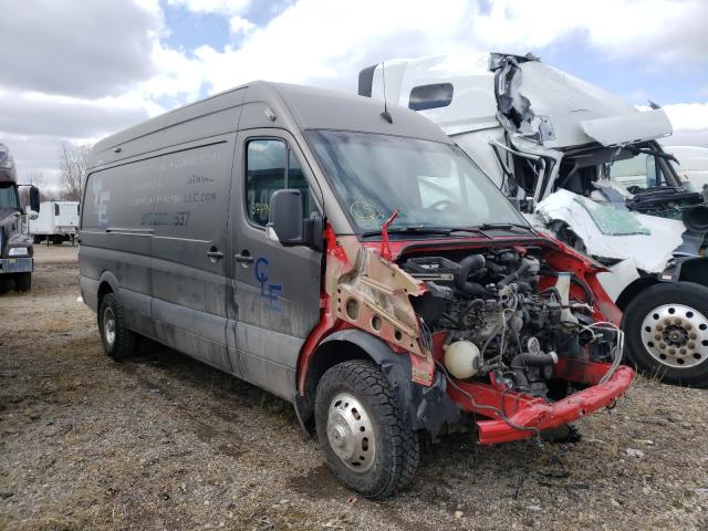 Salvage cars for sale from Copart Elgin, IL: 2008 Dodge Sprinter 3