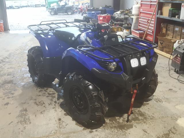 Salvage motorcycles for sale at Hueytown, AL auction: 2014 Yamaha YFM450 FWA