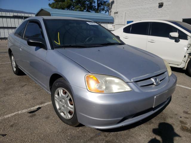 Honda Civic salvage cars for sale: 2002 Honda Civic