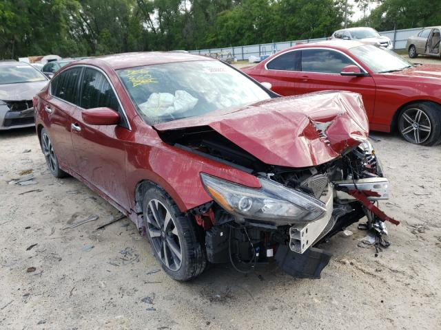 Salvage cars for sale from Copart Ocala, FL: 2016 Nissan Altima 3.5