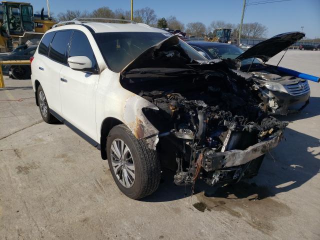 Nissan Vehiculos salvage en venta: 2019 Nissan Pathfinder