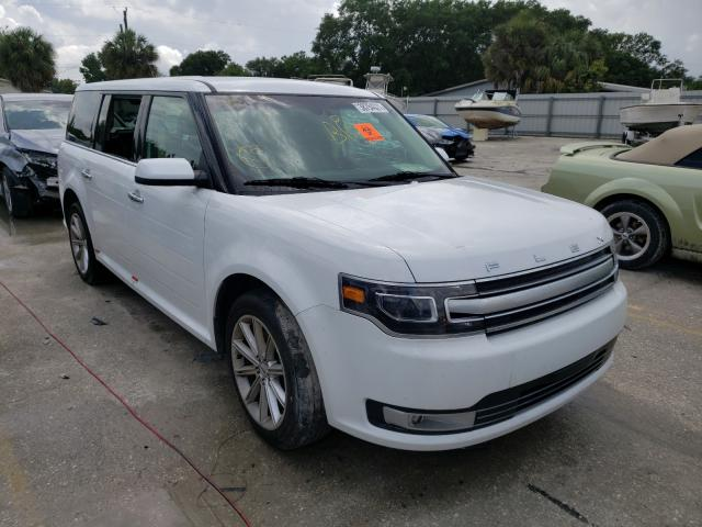 Salvage cars for sale from Copart Punta Gorda, FL: 2019 Ford Flex Limited