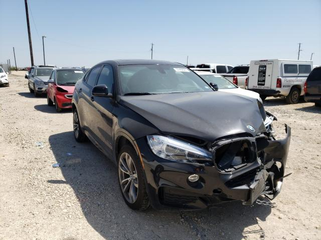 Salvage cars for sale from Copart Temple, TX: 2016 BMW X6 SDRIVE3