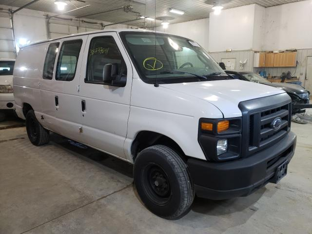 Salvage cars for sale from Copart Columbia, MO: 2008 Ford Econoline