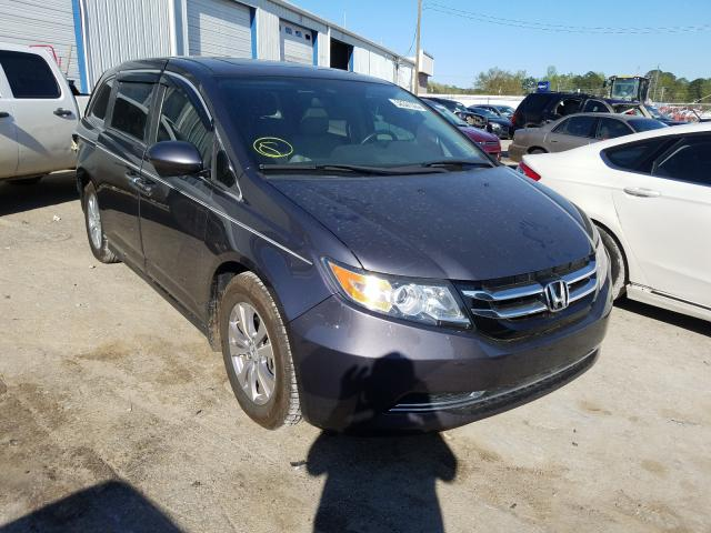 Salvage cars for sale from Copart Montgomery, AL: 2014 Honda Odyssey EX