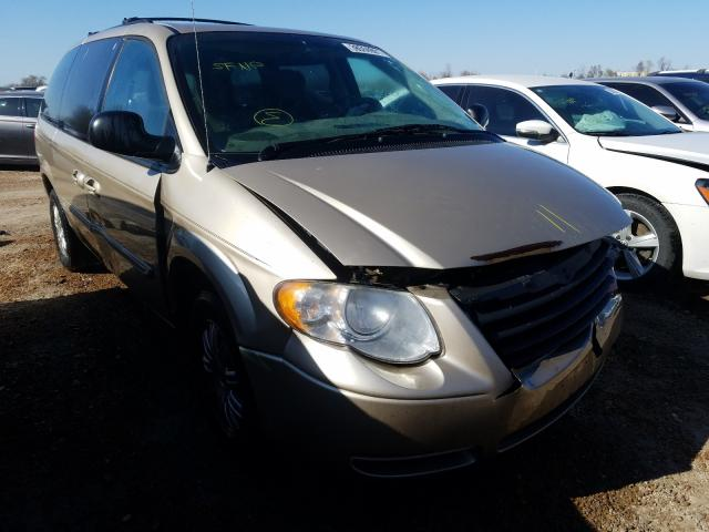 Salvage cars for sale from Copart Bridgeton, MO: 2006 Chrysler Town & Country