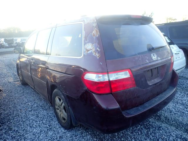 2007 HONDA ODYSSEY EX - Right Front View