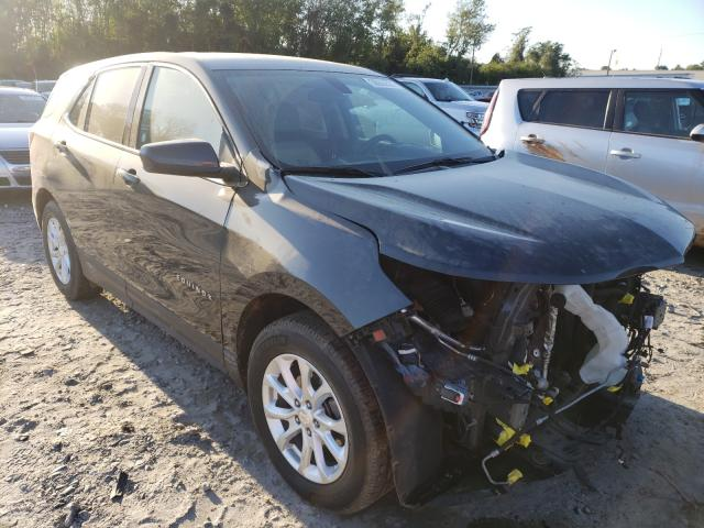 Salvage cars for sale from Copart Tifton, GA: 2019 Chevrolet Equinox LT