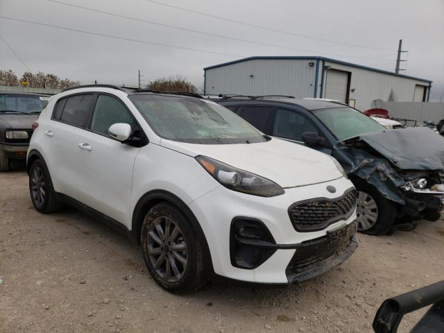 Salvage cars for sale from Copart Temple, TX: 2021 KIA Sportage S