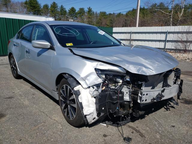 Salvage cars for sale from Copart Exeter, RI: 2018 Nissan Altima 2.5