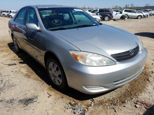 Salvage cars for sale from Copart Bridgeton, MO: 2002 Toyota Camry LE