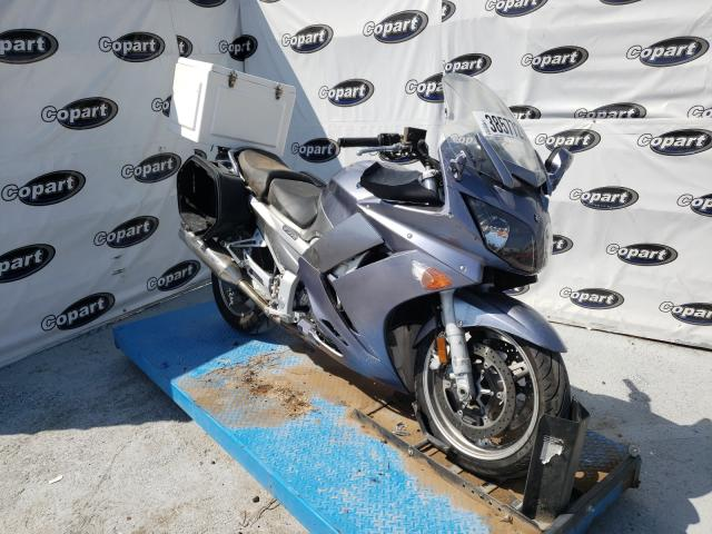 Salvage cars for sale from Copart Anthony, TX: 2007 Yamaha FJR1300 AS
