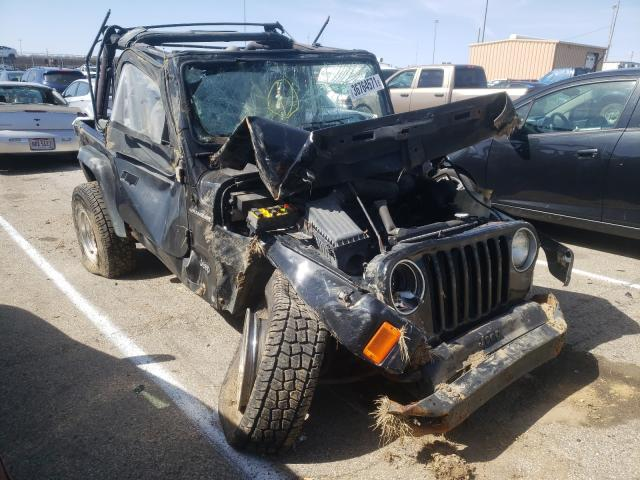 Jeep Wrangler salvage cars for sale: 1997 Jeep Wrangler