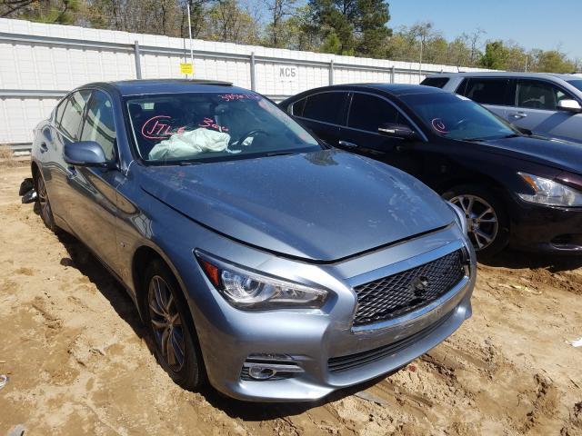 Infiniti Vehiculos salvage en venta: 2015 Infiniti Q50 Base