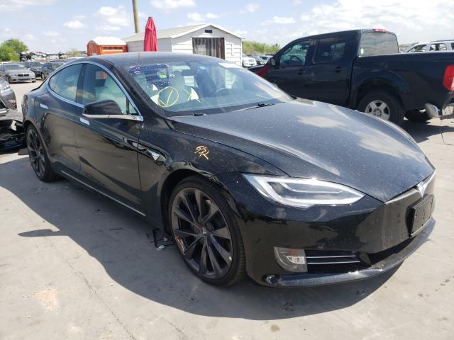 Tesla salvage cars for sale: 2020 Tesla Model S
