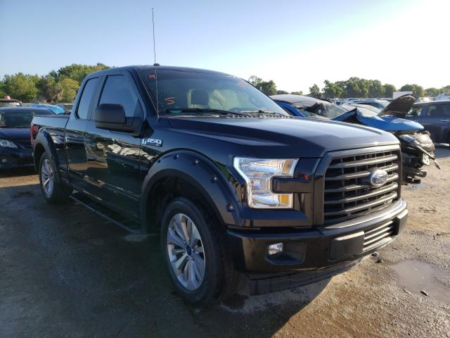 Salvage cars for sale from Copart Riverview, FL: 2017 Ford F150 Super